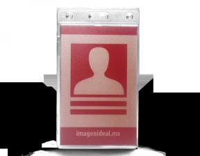 Portacredencial Vertical de Seguridad