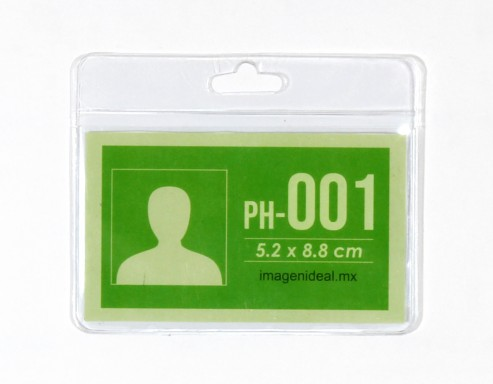 [PH-001] Portagafete vinil 8.8 x 5.2