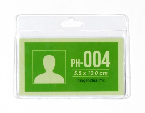 [PH-004] Portagafete vinil 10 x 5.5