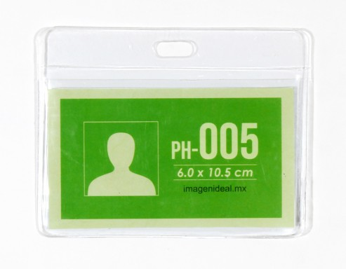 [PH-005] Portagafete vinil 10.5 x 6