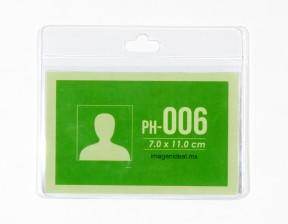 [PH-006] Portagafete vinil 11 x 7