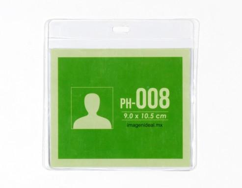 [PH-008] Portagafete vinil 10.5 x 9.5