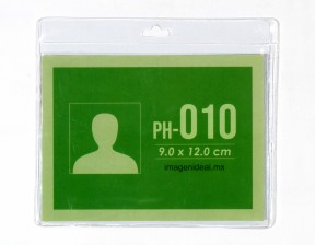 [PH-010] Portagafete vinil 12 x 9