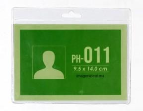 [PH-011] Portagafete vinil 14 x 9.5