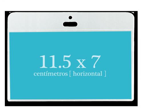 Portagafete Acrílico 11.5 x 7