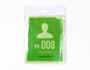 [PV-008] Portagafete vinil 9.5 x 11.5