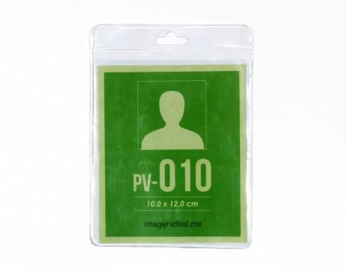 [PV-010] Portagafete vinil 10 x 12