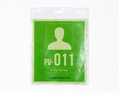 [PV-011] Portagafete vinil 11.3 x 13.3