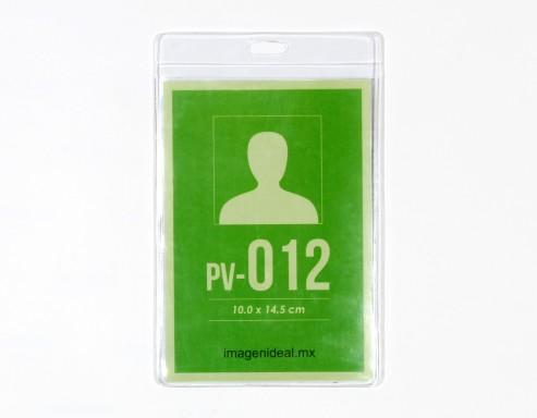 [PV-012] Portagafete vinil 10 x 14.5