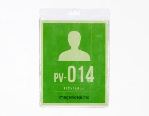 [PV-014] Portagafete vinil 11.5 x 14.5