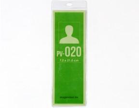 [PV-020] Portagafete vinil 7.2 x 21